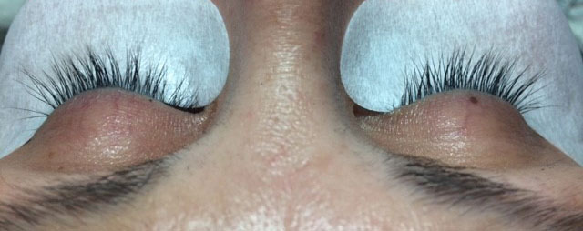 Example of a good Eyelash Extension candidate